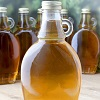 Maple syrup wine